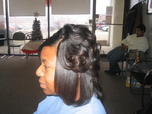 Top Image Of Roller Wrap Hairstyles Christopher Lawson Journal