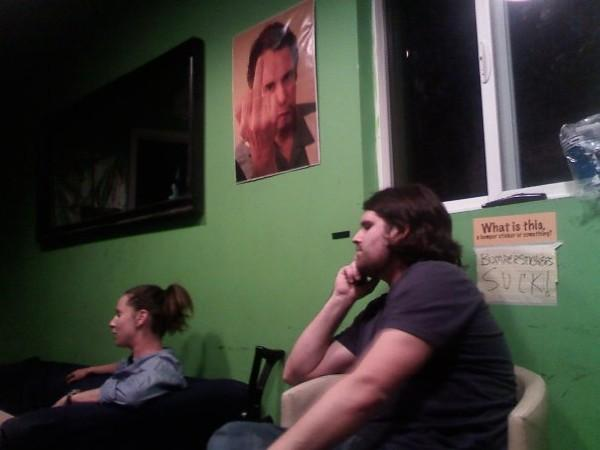 Waiting in the UCB green room... in Stand-Up by Charles Lawry-Martinez