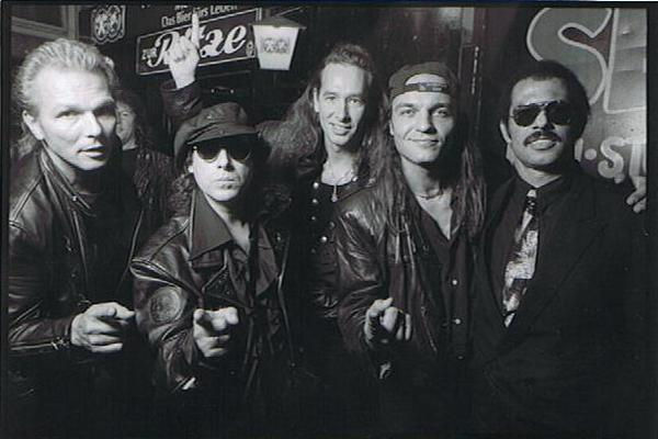 Scorpions 1993 - live in meinem Club in DiaShow by Kalle Schwensen