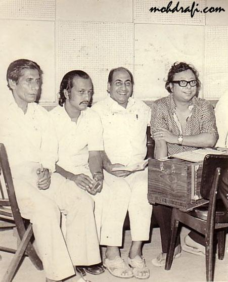 Mohammed Rafi, Pancham & collaborators in My Photos by
