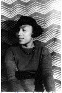 writer Zora Neal Hurston-1938 in My Photos by