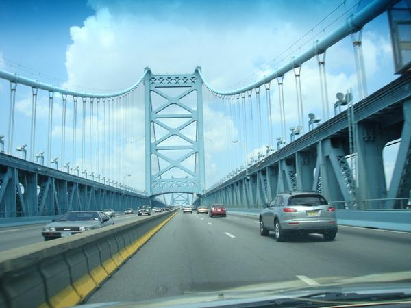 The Bridge from NJ to Philly in Wizard World Philly 2008 by