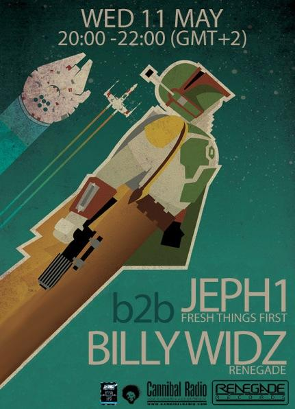 Billy Widz B2B Jeph1 in Flyers by 