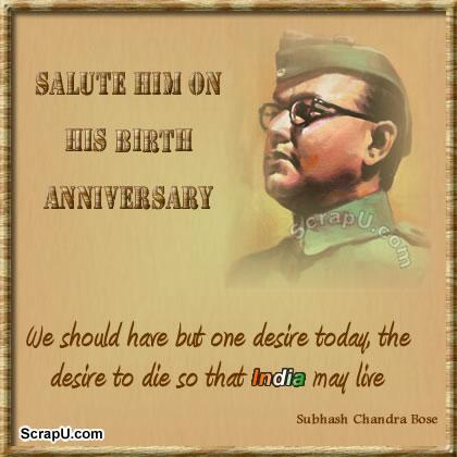 Netaji-Subhash-Chandra-Jayanti Graphics