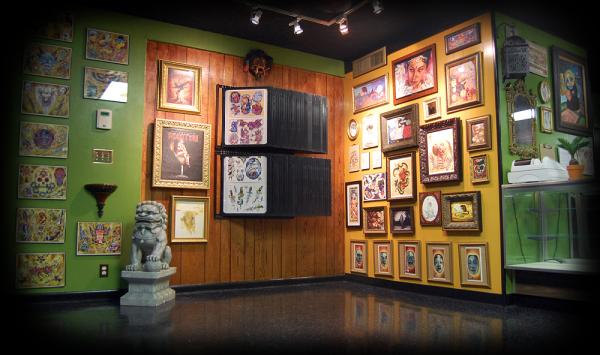 Entrance to Monument Tattoos - 1367 Mahan Drive  Tallahassee, Fl 32308