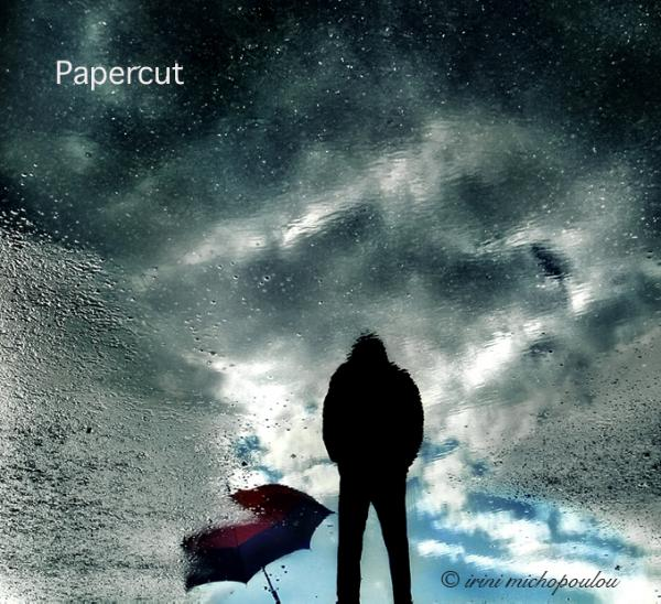 Papercut cd cover and promo photos in MUSIC INDUSTRY- Greece by Irini Michopoulou