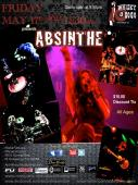 ABSINTHE Headlines Whisky AGoGo TONIGHT 11:30pm.  $10.00 discounted tix available.  See you at the show!