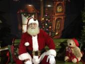 Santa will be here tonight for photos! Bring your camera
