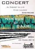 DARi + Nobus @ le Cabaret du Lys