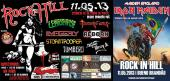 Cartaz oficial do Festival Rock In Hill com o IMAGERY em Bueno Brando/MG dia 11 de Maio. Tambm tocam Psychotic Eyes, Leptospirose, Reborn,