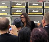 Yngwie Malmsteen at Namm for Marshall