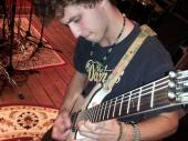 Chris Wallen Guitar player that did recording with us. incredable 19 yr old guitar player
