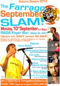 The Farrago September SLAM! @ RADA Foyer Bar