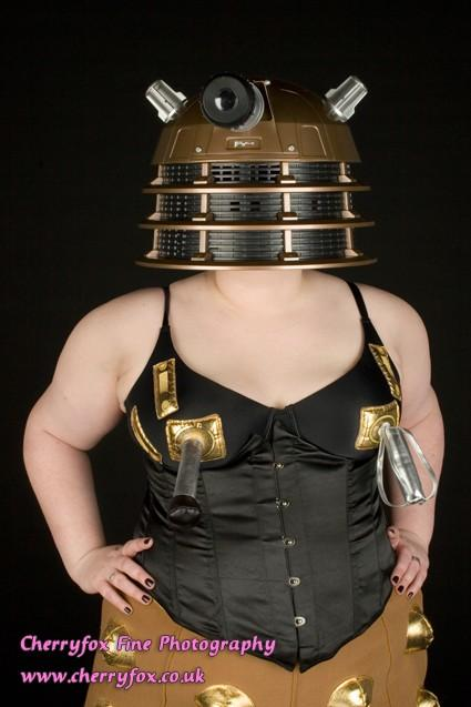I am Dalek - photoshoot with Cherryfox Fine Photog by Tempest Devyne