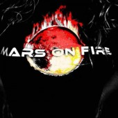 Photo of mars on fire