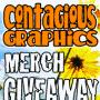 Contagious Merch Giveaway