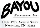 Photo of BAYOU RECORDING